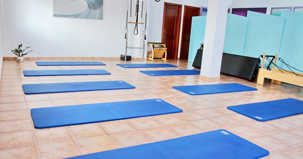 pilates individual studio matt class